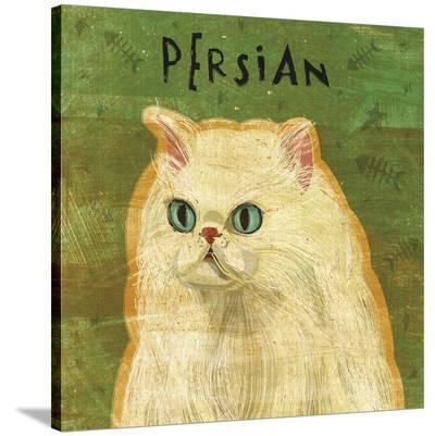 Persian-John W^ Golden-Stretched Canvas Print