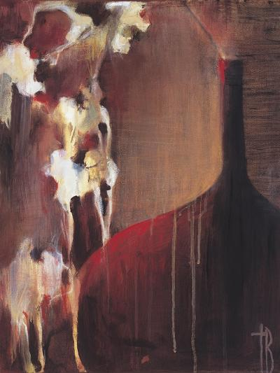 Persimmon Vase II-Terri Burris-Art Print