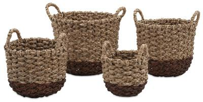 Persimmon Woven Basket Set