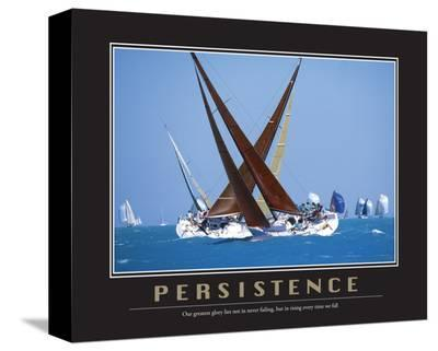 Persistence--Stretched Canvas Print