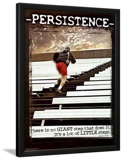Persistence--Lamina Framed Art Print