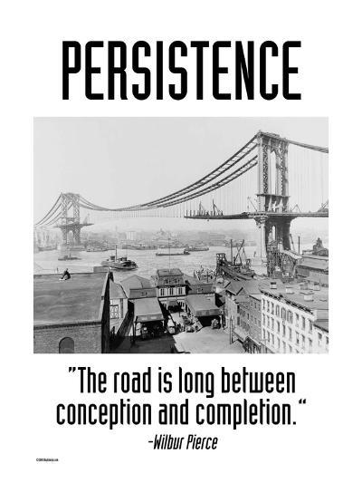Persistence-Wilbur Pierce-Art Print