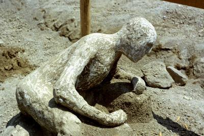 Person Killed by the Pompeii Eruption, 79 Ad--Photographic Print