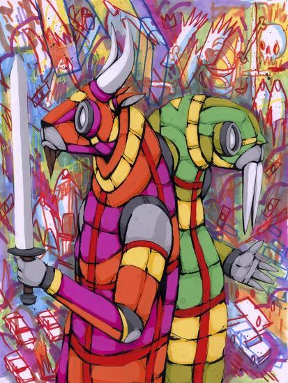 Personality Differences-Ric Stultz-Giclee Print