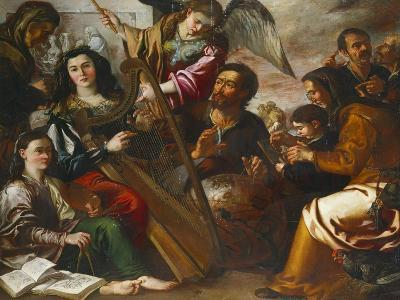 Personifications of the Liberal Arts-Miguel March-Giclee Print