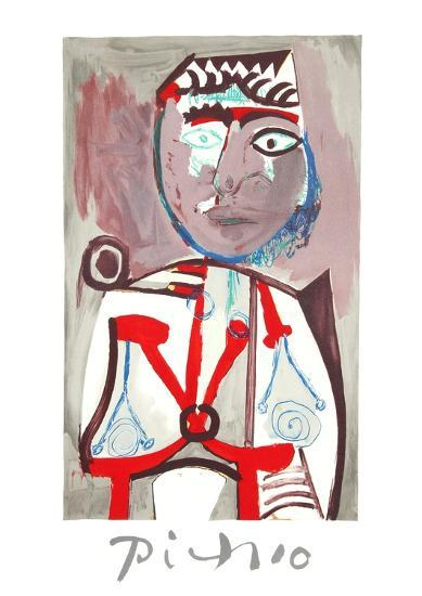 Personnage-Pablo Picasso-Collectable Print