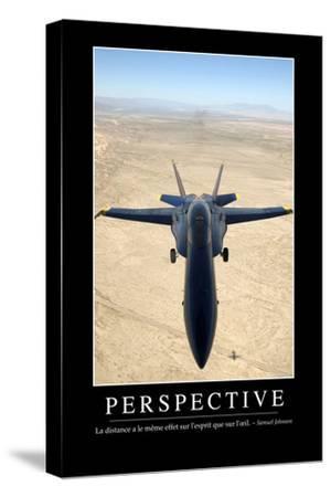 Perspective: Citation Et Affiche D'Inspiration Et Motivation