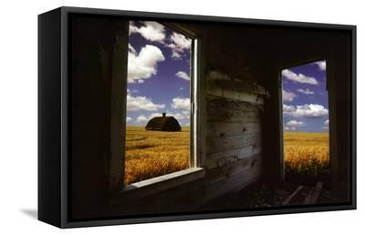 Perspective--Framed Canvas Print