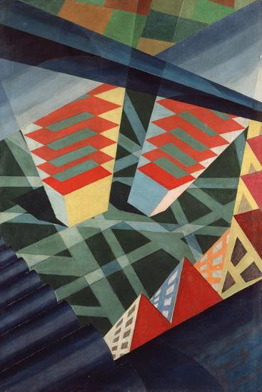 Perspectives in Flight, c.1926-Fedele Azari-Giclee Print
