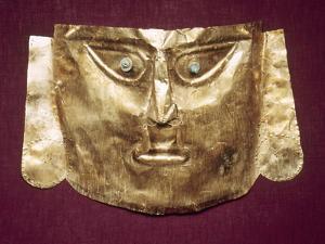 Peru: Chimu Gold Mask
