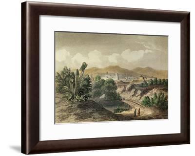Peru, Cusco, Founded by Francisco Pizarro, 1850--Framed Giclee Print