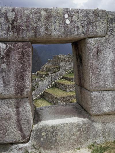 Peru, Urubamba Valley, Machu Picchu--Giclee Print