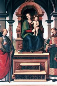 Madonna and Child with Saints, C1470-1523 by Perugino
