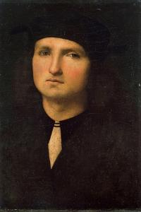 Portrait of a Young Man, Between 1495 and 1500 by Perugino