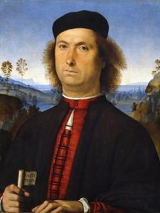Portrait of Francesco Delle Opere, 1494 by Perugino