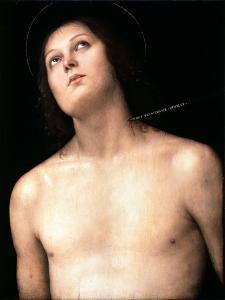 Saint Sebastian, Between 1493 and 1494 by Perugino