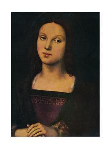 'St. Mary Magdalene', 1500, (1912) by Perugino