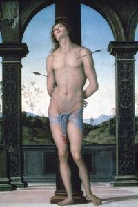 St Sebastian, C1470-1523 by Perugino