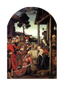 The Adoration of the Magi, Ca. 1470-1480 by Perugino
