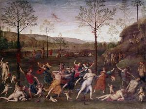 The Battle of Love and Chastity, 1504-1523 by Perugino