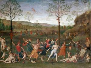 The Battle of Love and Chastity, C1503-1523 by Perugino
