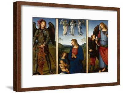 Three Panels from an Altarpiece, Certosa, C. 1500