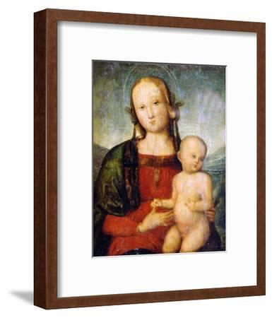 Virgin and Child, Late 15th Century