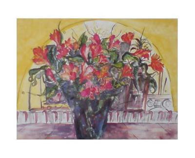 Peruvian Lilies-Gemma Cotsen-Art Print