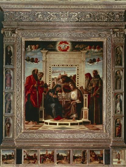 Pesaro Altarpiece-Giovanni Bellini-Giclee Print