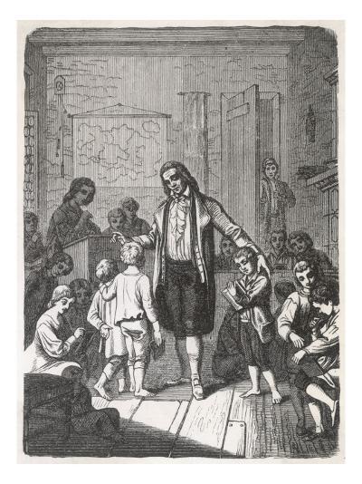 Pestalozzi's School--Giclee Print