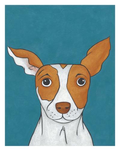 Pet Portraits II-Chariklia Zarris-Art Print