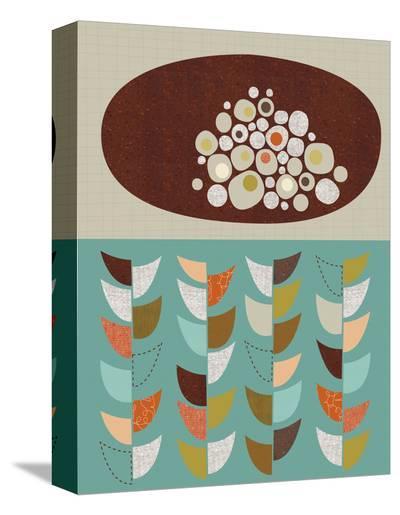 Petal Pods I-Jenn Ski-Stretched Canvas Print