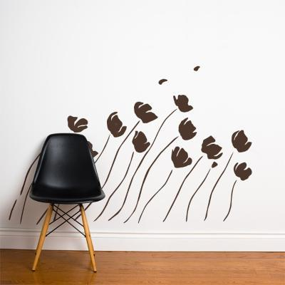 Petals in the Wind Wall Decal--Wall Decal