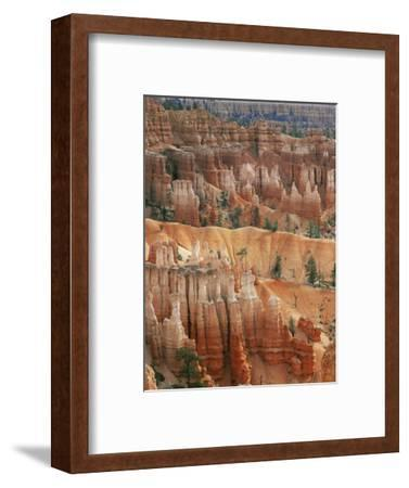 Hoodoo Sandstone Structures, Bryce Canyon National Park, Utah, USA