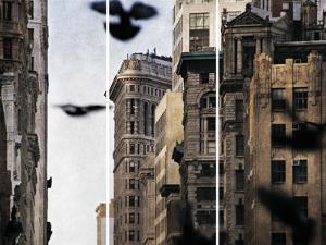 City In Flight by Pete Kelly