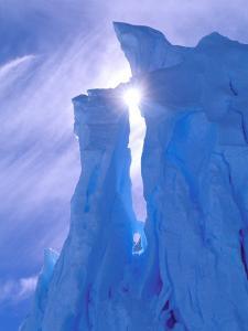 Iceberg, Australian Antarctic Territory, Antarctica by Pete Oxford
