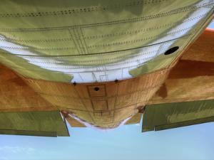 "Underbelly of a Hc-130P ""Hercules"" Military Aircraft by Pete Ryan"