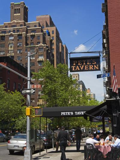 Pete's Tavern on Irving Place, Gramercy Park District, Manhattan, New York City, Ny, USA-Richard Cummins-Photographic Print