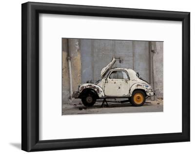 1948 Fiat Torbelino Car, Restoration Project, Alexandria, Egypt