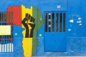 Africa Shop Front, Praia, Santiago, Cape Verde by Peter Adams