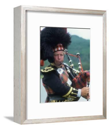 Bagpipe Player, Scotland