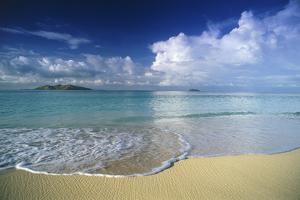 Beach in Fiji by Peter Adams