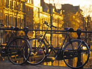 Bikes, Amsterdam, Holland by Peter Adams