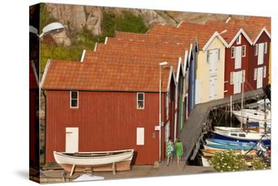 Boat Huts in Smogen, Bohuslan Coast, Sweden
