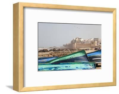 Boats and City Walls, Essaouira, Morocco