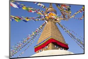 Boudhanath Stupa, Kathmandu Valley, Nepal by Peter Adams