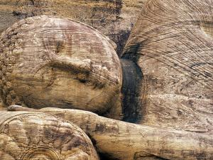 Buddha Statue, Parinirvana, Sri Lanka by Peter Adams