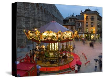Carousel, Segovia, Castilla Y Leon, Spain