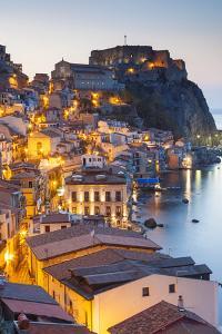Castello Ruffo, Scilla, Calabria, Italy by Peter Adams