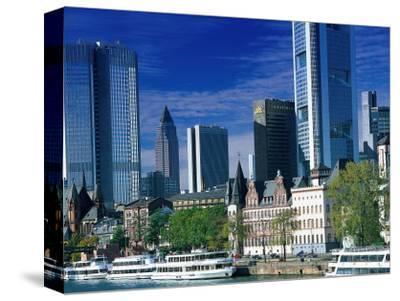 Cityscape of Frankfurt, Germany